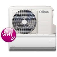 Qlima SC-3725(85m³) Split unit airco met snelkoppeling en WiFi module. SC3725