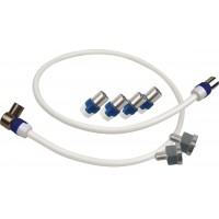 Aansluitset voor Hirschmann HMV41 CAI Antenneversterker (SHOP SET 4114, koka9ts)