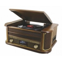 Soundmaster NR513DAB - Nostalgie Muziek Center met DAB+ en bluetooth